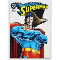 Superman DC Comics Issue 150 FRIDGE MAGNET Justice League Man of Steel Comic Book