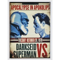Superman Vs Darkseid FRIDGE MAGNET Clark Kent Justice League