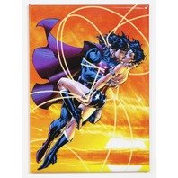 Superman Kissing Wonder Woman FRIDGE MAGNET Clark Kent Justice League