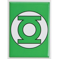 The Green Lantern Logo FRIDGE MAGNET Justice League DC Comics Comic Book A24
