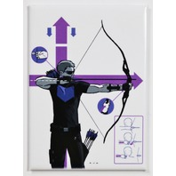 Hawkeye FRIDGE MAGNET Marvel Comics Avengers Archer Stan Lee Superhero