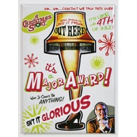 A Christmas Story Sexy Leg Lamp FRIDGE MAGNET Classic Movie Poster