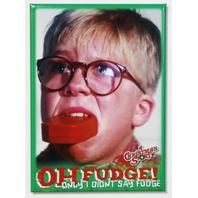 A Christmas Story Oh Fudge FRIDGE MAGNET Ralph Parker