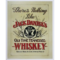 Jack Daniels Tennessee Whiskey Tin Sign Man Cave Bar Beer Alcohol