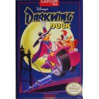 Nintendo Disney Darkwing Duck FRIDGE MAGNET Video Game Box Capcom Classic NES