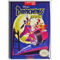 Nintendo Disney Darkwing Duck FRIDGE MAGNET Video Game Box Capcom Classic NES