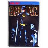 Nintendo DC Comics Batman FRIDGE MAGNET Video Game Box Sunsoft Classic NES