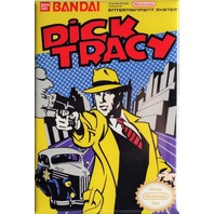 Nintendo Dick Tracy FRIDGE MAGNET Video Game Box Classic NES