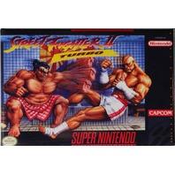 Super Nintendo SNES Street Fighter 2 Turbo FRIDGE MAGNET Video Game Box