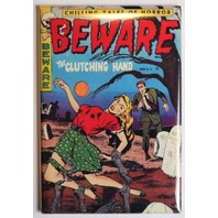 Beware Comics No 14 FRIDGE MAGNET Pin Up Girl Comic Book Zombies 50s