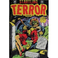 Startling Terror Tales FRIDGE MAGNET Warewolf Monster Comic Book Zombies 50s