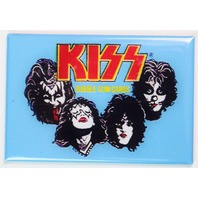 KISS Bubble Gum Cards Wax Pack FRIDGE MAGNET 1970s Rock N Roll