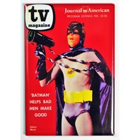 TV Magazine Adam West Batman FRIDGE MAGNET Super Hero DC Comics