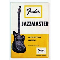 Vintage Fender Jazzmaster Guitar  Instruction Manual FRIDGE MAGNET