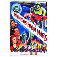 Invaders From Mars Movie Poster FRIDGE MAGNET Sci Fi 1950s