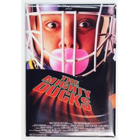 The Mighty Ducks Movie Poster FRIDGE MAGNET Disney Sports Hockey