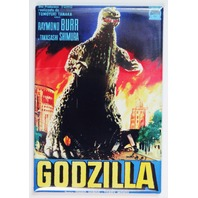 Godzilla 1956 Movie Poster FRIDGE MAGNET Sci FI Monster 1950s