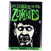 The Plague of Zombies Movie Poster FRIDGE MAGNET Halloween Dracula Walking Dead