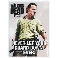 The Walking Dead Rick Grimes FRIDGE MAGNET Daryl Dixon Zombies Negan