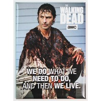 The Walking Dead Rick Grimes FRIDGE MAGNET The Saviors Daryl Dixon Zombies Negan