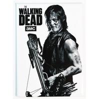 The Walking Dead Daryl Dixon w/ Crossbow FRIDGE MAGNET Negan Rick Grimes Q20