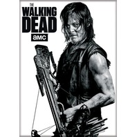 The Walking Dead Daryl Dixon w/ Crossbow FRIDGE MAGNET Negan Rick Grimes Q20