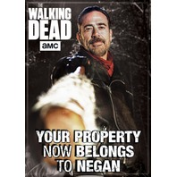 The Walking Dead Negan Saviors FRIDGE MAGNET Glenn Rhee Michonne Rick Grimes Q16