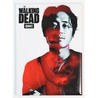 The Walking Dead Glenn Rhee FRIDGE MAGNET Maggie Negan Rick Grimes