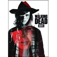 The Walking Dead Carl Grimes FRIDGE MAGNET Glenn Negan Rick Grimes