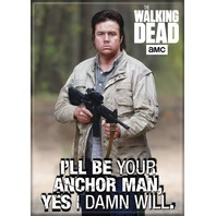 The Walking Dead Eugene Porter FRIDGE MAGNET Abraham Ford Rick Grimes Negan Q13