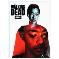 The Walking Dead Sasha Williams FRIDGE MAGNET Abraham Ford Rick Grimes Negan Q12