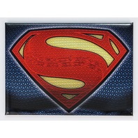 Superman Logo FRIDGE MAGNET Justice League Batman Snider DC Comics Book Superhero