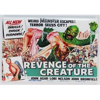 Revenge of the Creature Movie Poster FRIDGE MAGNET Universal Monster Film