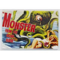 Monster From The Ocean Floor Movie Poster FRIDGE MAGNET Monster Film Horror Sci Fi
