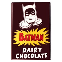 Batman Dairy Chocolate FRIDGE MAGNET DC Comics Vintage AD Comic Book