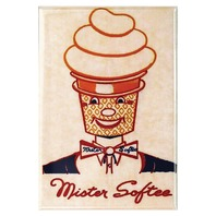 Mister Softee Ice Cream FRIDGE MAGNET Vintage Advertisement 1950s Kitchen