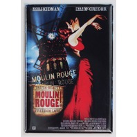 Moulin Rouge Movie Poster FRIDGE MAGNET Kidman McGregor