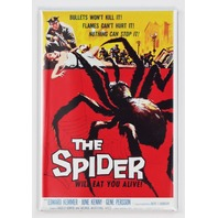 The Spider Movie Poster FRIDGE MAGNET 1950s Sci Fi Monster Film
