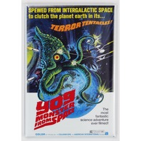 Yog Monster From Space Movie Poster FRIDGE MAGNET 1950s Sci Fi Film