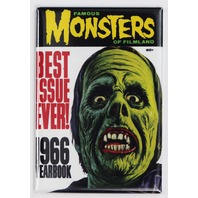 Famous Monsters of Filmland 1966 Yearbook FRIDGE MAGNET Monster Movies Zombie Vampire