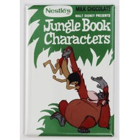 Nestle Disney Jungle Book Characters Milk Chocolate FRIDGE MAGNET Candy