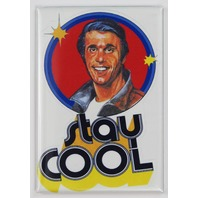 Stay Cool Fonzie Happy Days FRIDGE MAGNET Fonz Vintage Style