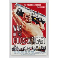 War of the Colossal Beast Movie Poster FRIDGE MAGNET Giant Monster Film 1950's Sci Fi