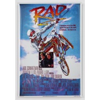 RAD Movie Poster FRIDGE MAGNET 1980's BMX Bike Teen Film