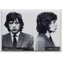 Mick Jagger Mugshot FRIDGE MAGNET Mug Rolling Stones Rock Music Jail