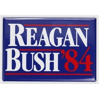 Ronald Reagan Bush 84 Election FRIDGE MAGNET Campaign Poster Republican 1984