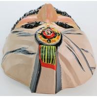 Vintage Zoltar Genie Halloween Mask 1970s 80s Sheik Wizard Zoltan Arabian Prince