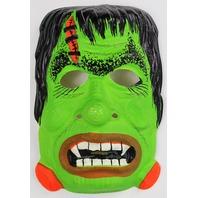 Vintage Frankestein Halloween Mask Universal Monster 1970's 60s