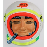 Vintage Halloween NASA Astronaut Mask Spaceman 1960s