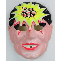 Vintage Lazar Man Halloween Mask Super Hero 1960's Laser